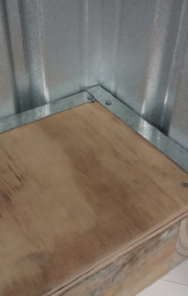 Water tightness from expert floor construction, treated timber, drainage feature